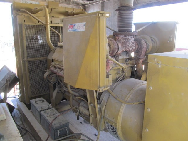CAT SR4 455KW Gen / CAT 3412 Eng
