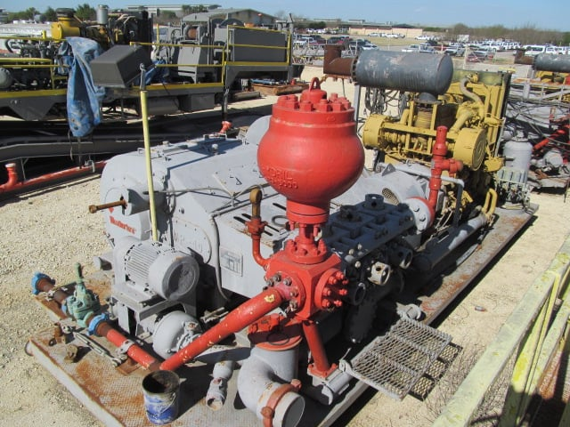 WEATHERFORD MP-10 1000HP Triplex Pump