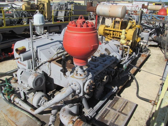 WEATHERFORD MP-10 Triplex Pump / CAT 3508C
