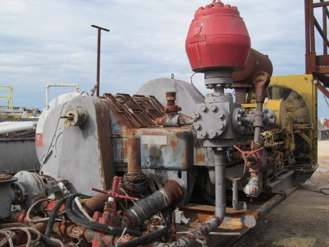 GARDNER.DENVER PZ-9 Mud Pump p/b CAT 3512B Engine