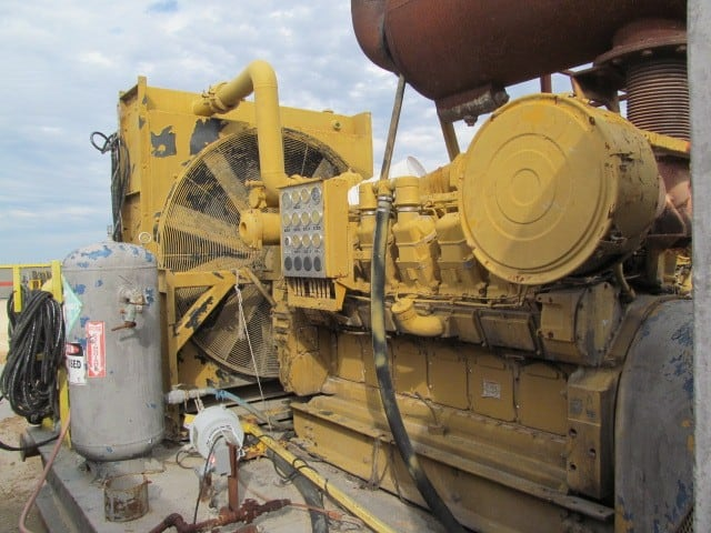 CAT 3512B Engine