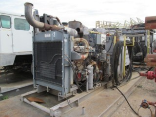 TESCO Hydraulic Power Unit p/b DETROIT Series 60 Engine