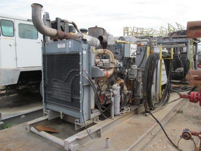 TESCO Hydraulic Power Unit p/b DETROIT Series 60 Engine