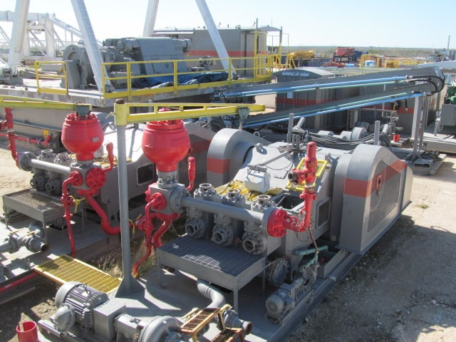 (2) G.DENVER PZ-10 Triplex Pumps