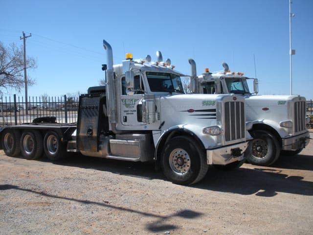 (2) 2014 PETE 389 Winch Trucks – YD3