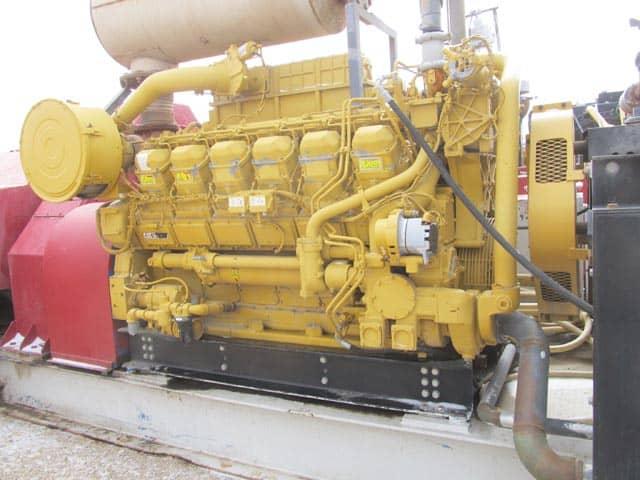 (1 of 2) 2012 CAT 3512 / F-1600 – YD11