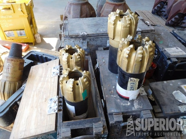 "(4) HUGHES 6"" BHC4062 Core Bits UNUSED"