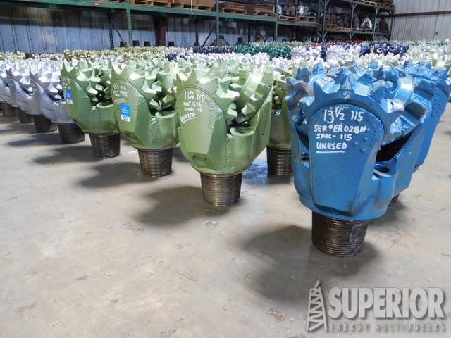 (6) GREAVES DF 115 Sealed Bearing Milltooth Bits UNUSED