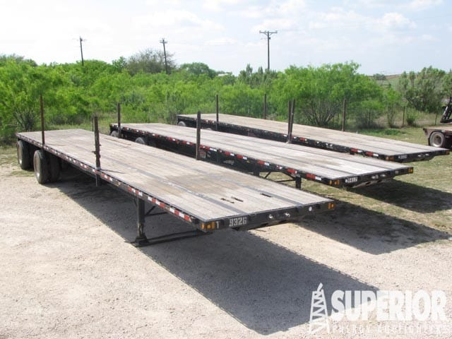 "(3 of 6) 2015 DOONAN 8'6"" W x 48'L Flatbed Trailers"
