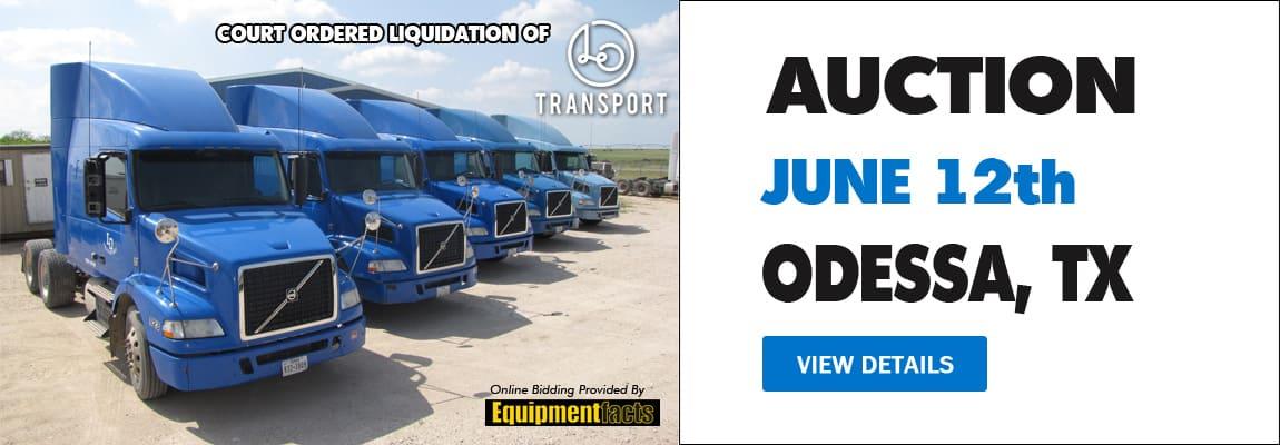 June 12 Auction | Odessa, TX