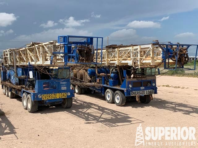 5-Axle Well Service Rigs