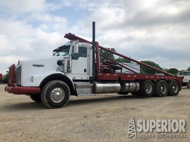 """2007 KENWORTH T-800 4-Axle Gin Truck w/ 300""""WB – YD1"""