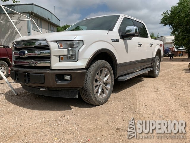 2017 FORD F-150 4WD Lariat w/ Low Miles! – YD1