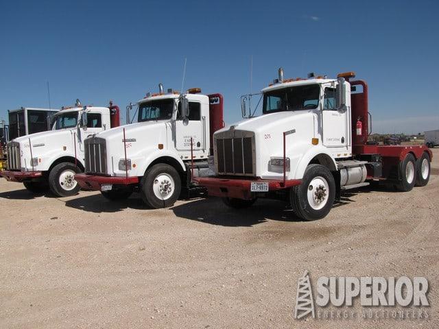 '93 KENWORTH T-600 Winch Trucks – YD1