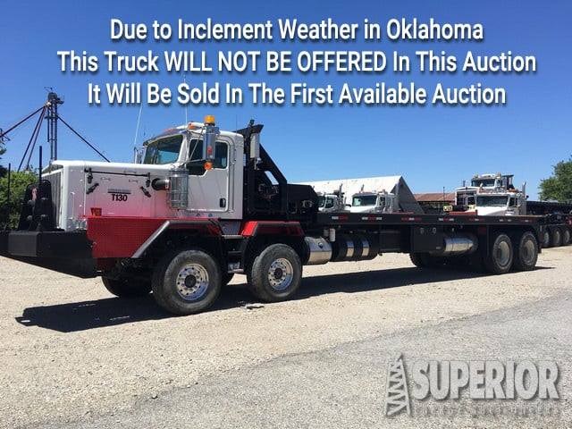 KENWORTH C-500 Tandem Steer – WILL NOT BE OFFERED