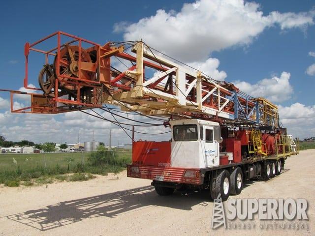 RG 60T Well Service Rig – YD1