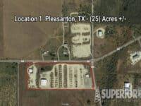 Real Estate - Location 3: Pleasanton, TX (25) Acres +/-