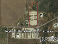 Real Estate - Location 2: Pleasanton, TX (25.7) Acres +/-