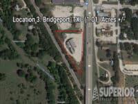 Real Estate - Location 3: Bridgeport, TX (1.01) Acres +/-