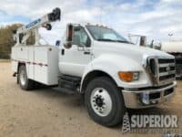 2015 FORD F750 Service Truck w/ 16,600 Miles – YD1