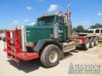2002 PETE 3-Axle Winch Truck