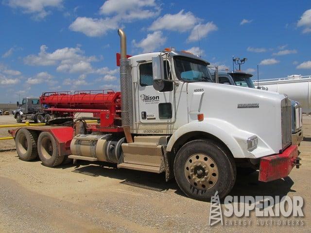 2012 KW T800 Winch Vacuum/Haul Truck