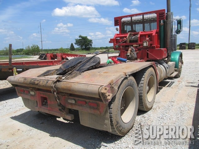 2012 PETE 388 Vacuum/Haul Truck