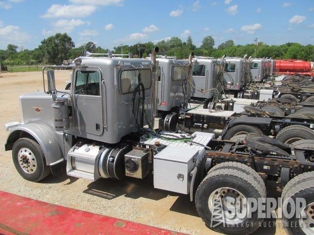 (17) 2012 PETE 388 Truck Tractors w/ Wet Kits