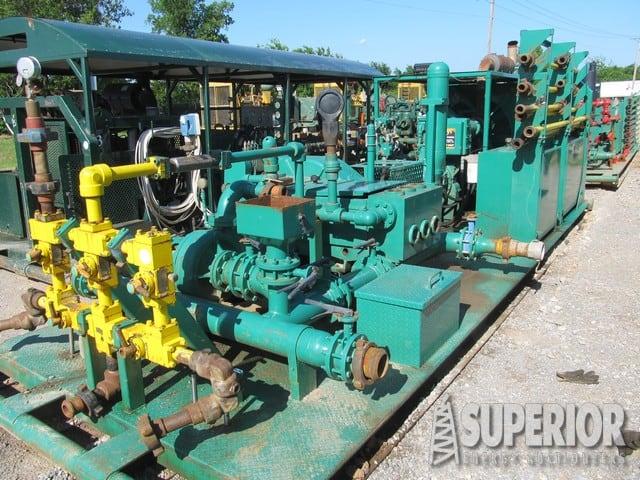 (1 of 3) 2012 NOV JWS-340 Pumps