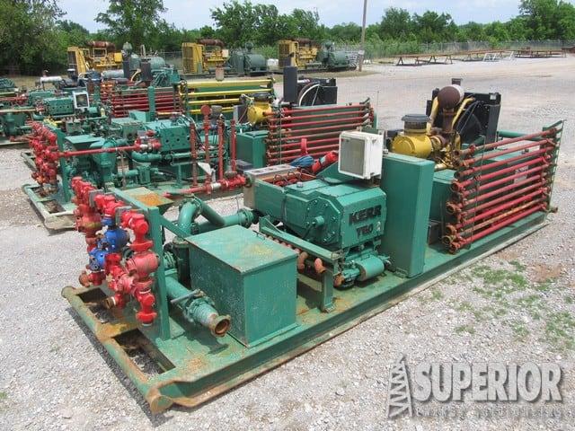 KERR & SPM 600HP Triplex Pumps