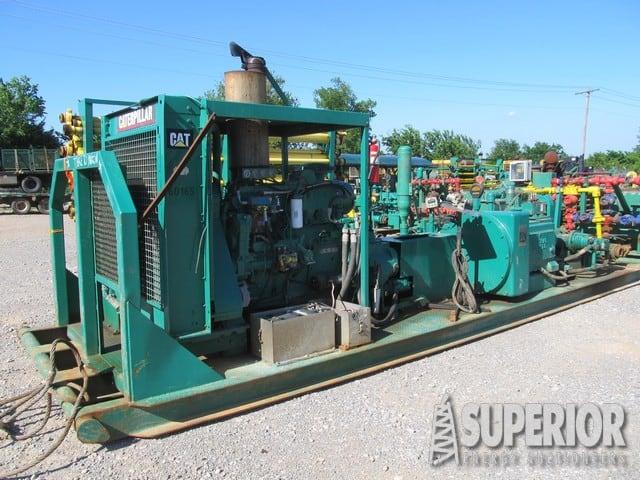 (1 of 2) NOV JWS-340 Triplex Pumps