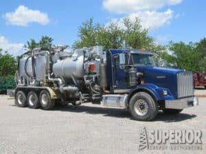 2012 SPM TWS-600 Acid Pump On 2012 KW T-800 Truck