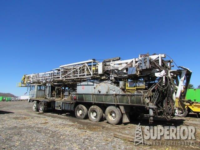 SJ PETRO XJ-450 Drilling Rig – DY2 YD8