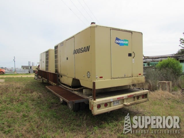 (2) I.RAND 900/350 Air Compressors - Rebuilt – DY2 YD17