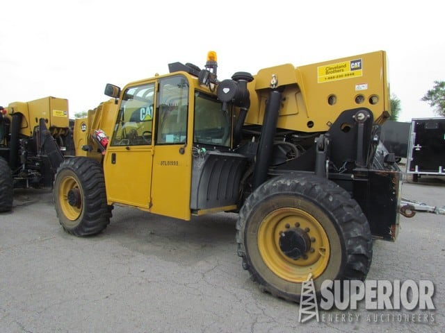(1 of 4) CAT TL1255 Telehandlers – DY1 YD14