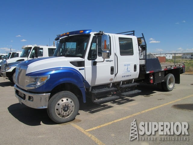2014 IHC 4WD Tong Truck