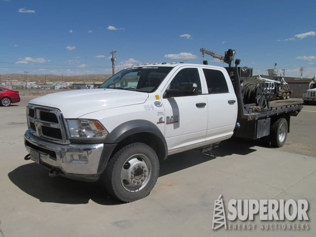 2015 DODGE 5500 4WD Tong Truck
