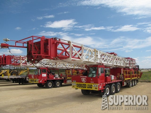 (1 of 2) SERVICE KING 675 Well Service Rig – DY1 YD9