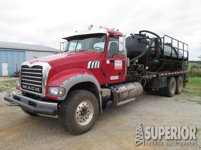 2014 MACK 80-Bbl Vacuum Truck – DY1 YD1