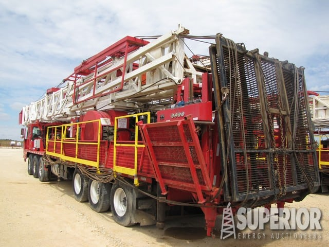 SERVICE KING 675 Well Service Rig – DY1 YD11