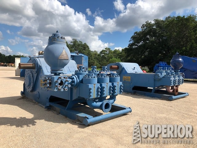 (2) Rebuilt NATIONAL 10-P-130 Pumps – DY2 YD5