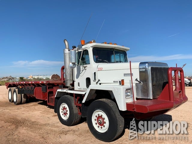 """'94 IHC Tandem Steer Gin Truck w/ 352""""WB – DY2 YD1"""