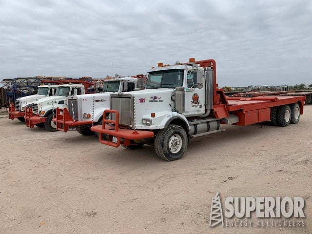Oilfield Rig-Up Trucks – DY2 YD2