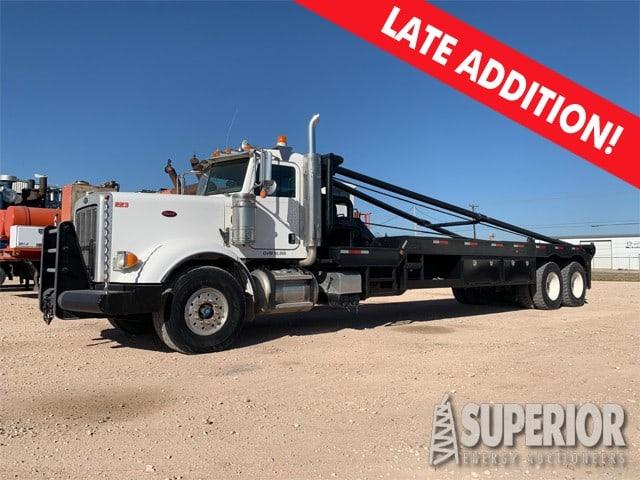 2012 PETE Oilfield Gin Truck w/ 62,297 Miles – DY2 YD1