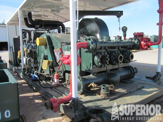 F-1600 Triplex Pump – DY1 YD1