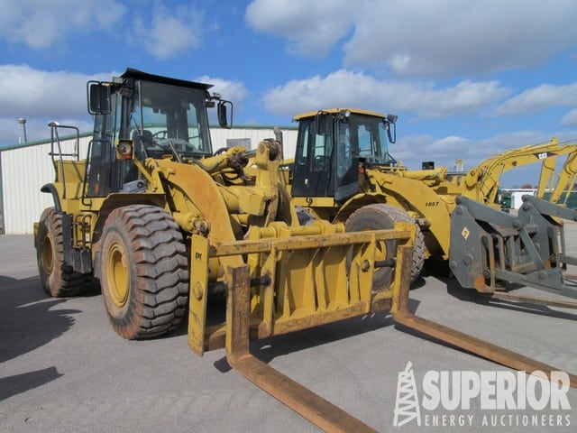 CAT 950H & 950G Loaders – DY2 YD1