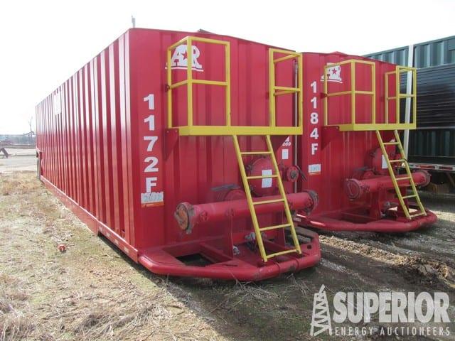 (2 of 4) 2012 ARMAN 500-Bbl Frac Tanks – DY2 YD2