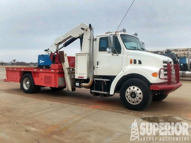 STERLING Knuckle Boom Truck – DY2 YD1
