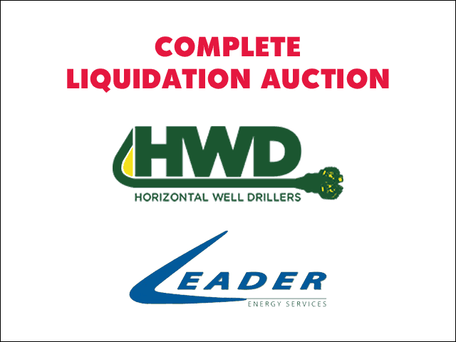 Complete Liquidation of Horizontal Well Drillers & Leader Energy Services