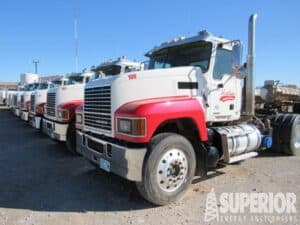 (31) Late Model Vac Truck Tractors – YD1